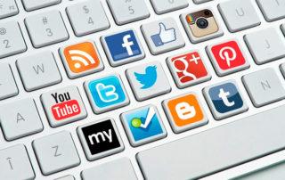 tono en las redes sociales de mi empresa