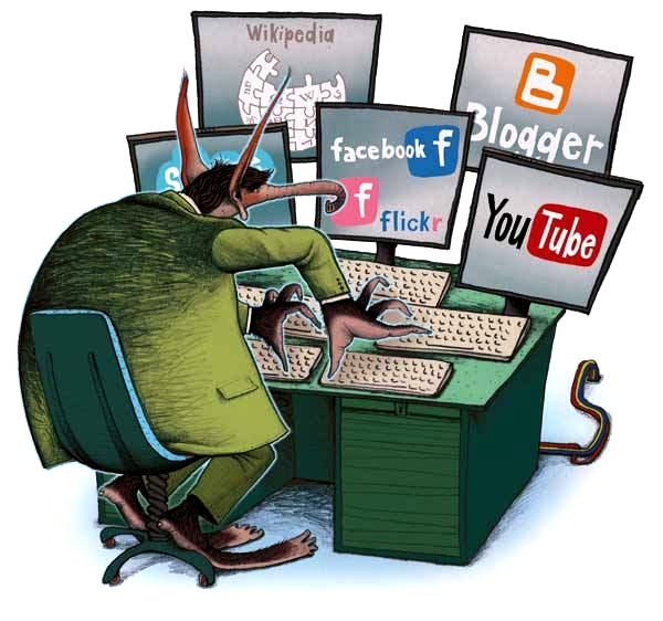 trolls en redes sociales