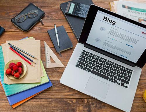 ¿De qué hablo en mi blog?