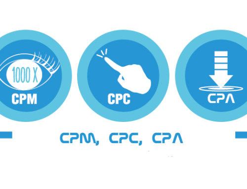 Diferencias entre CPM, CPC y CPA