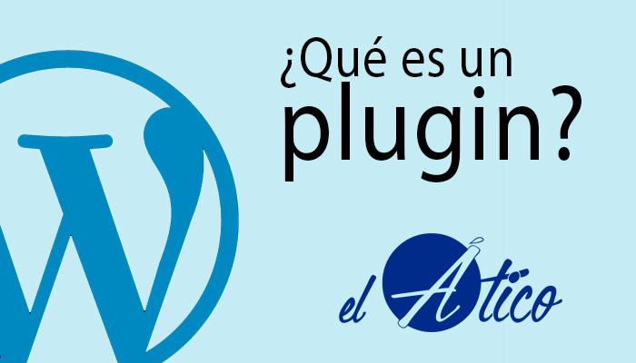 ¿Qué es un plugin?